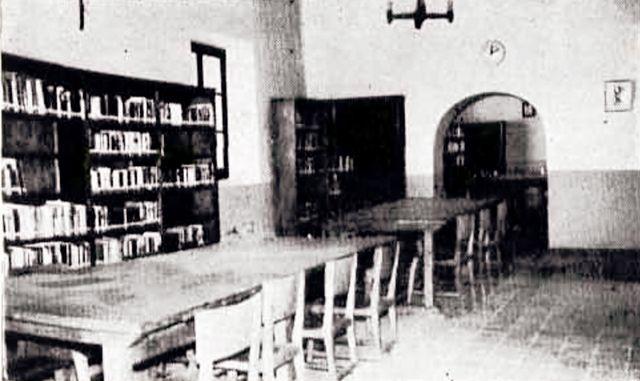 biblioteca en el Cristo